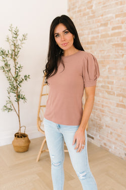 Karina Gathered Sleeve Top