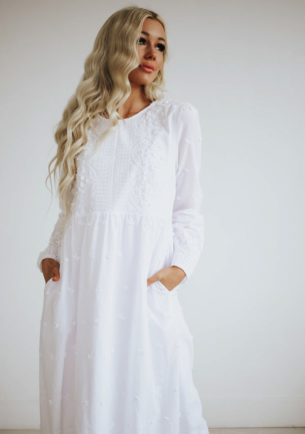 Karissa Embroidery Dress