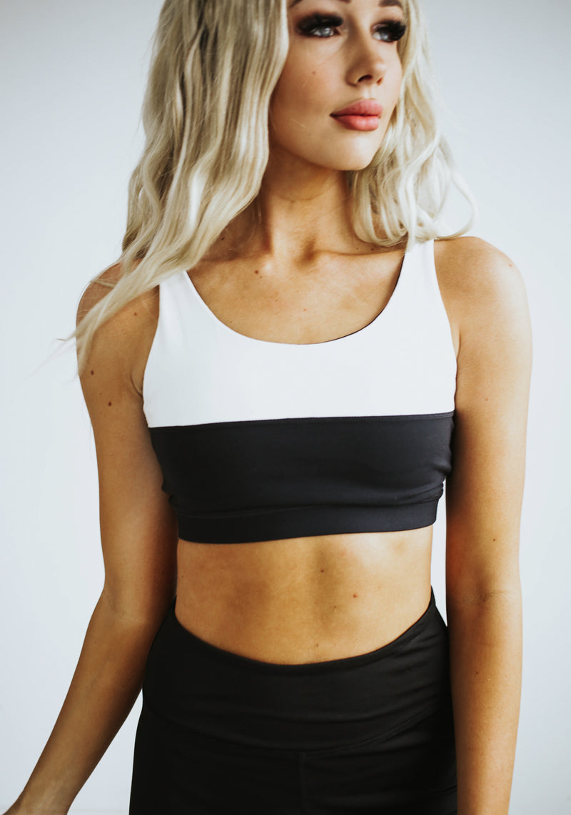 Kenley Colorblock Sports Bra