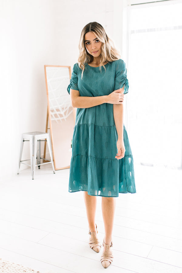 Maleesa Puff Sleeve Dress