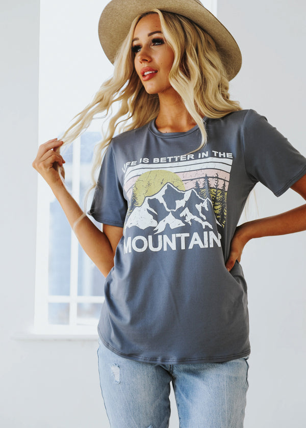 Mountains Graphic Tee