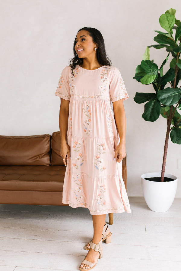 Sasha Embroidery Dress
