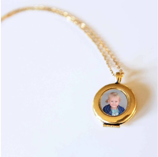 Joy Locket Necklace