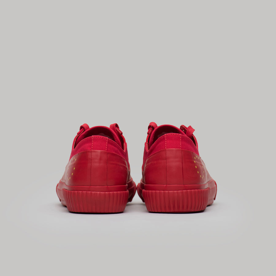both x SOUVENIR GALOSH LOW TOP-RED