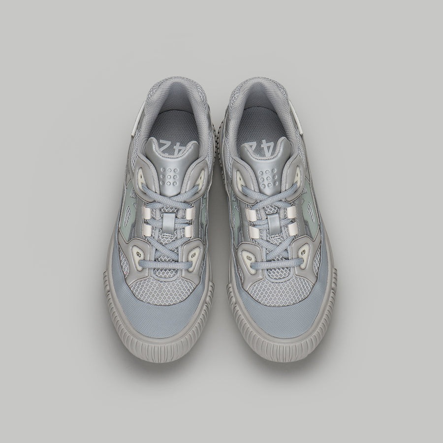 both - CLASSIC RUNNER-M-SILVER/WHITE