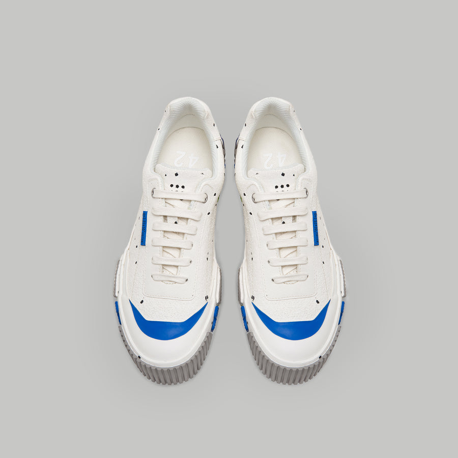 both - BROKEN-C LOW-WHITE/MUTIL BLUE