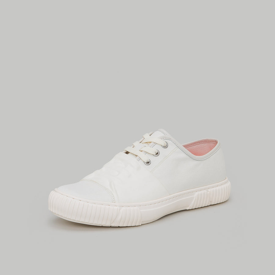 both - FRONT STRAP LOW TOP-WHITE