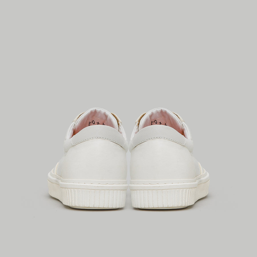 both - VNTG LOW TOP-WHITE