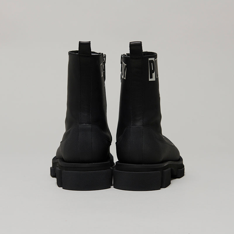 both x KIDILL GAO ZIP BOOT-BLACK
