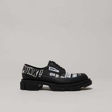 both x KIDILL GAO DERBIES-BLACK