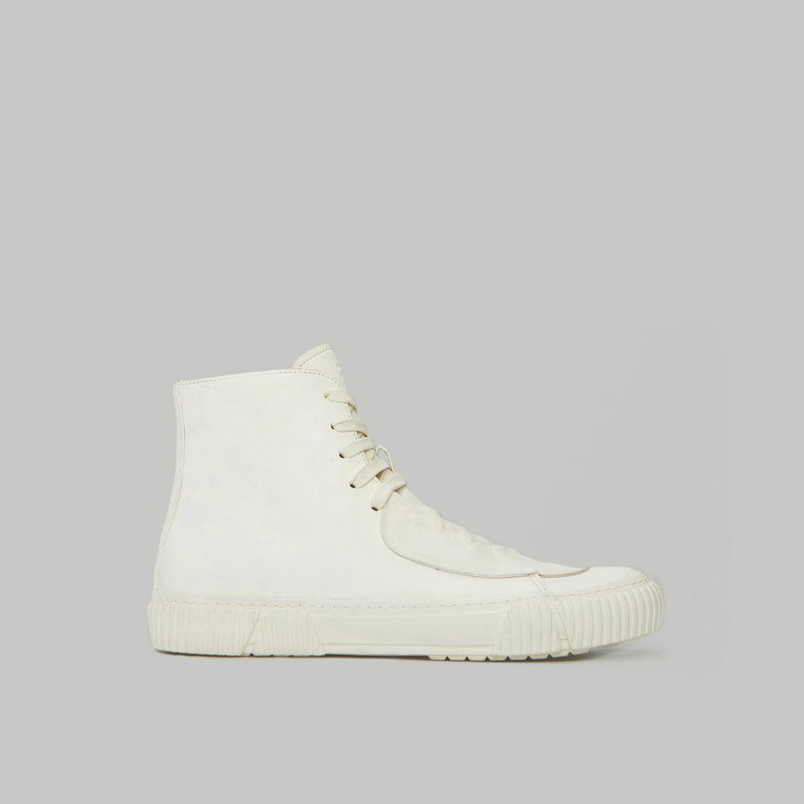 both - GUM PATCH HIGH TOP-WHITE