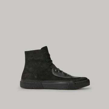 both - GUM PATCH HIGH TOP-BLACK