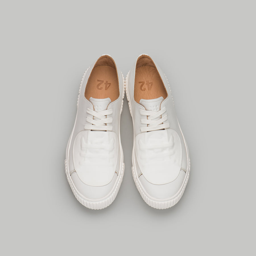both - GUM PATCH LOW TOP-M-WHITE