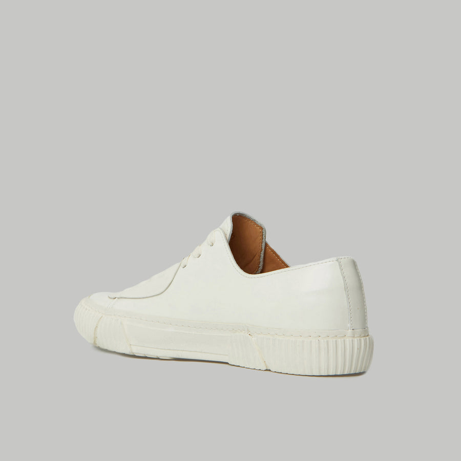 both - GUM PATCH LOW TOP-WHITE