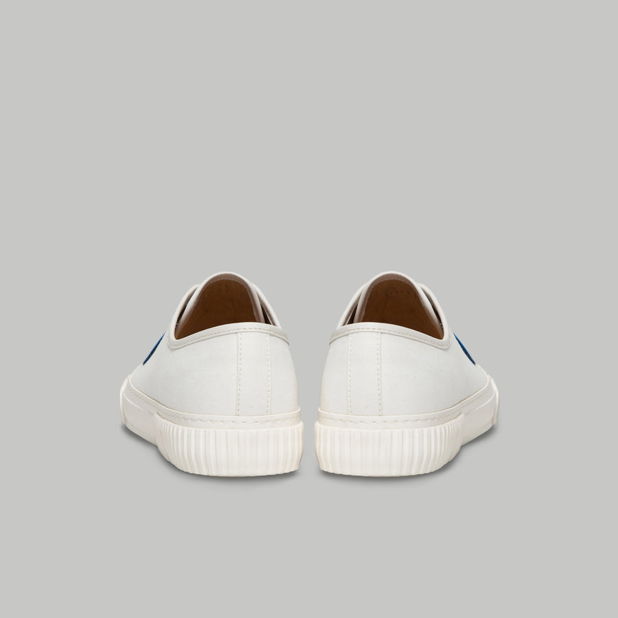 both - GUM PATCH LOW TOP-WHITE/BLUE