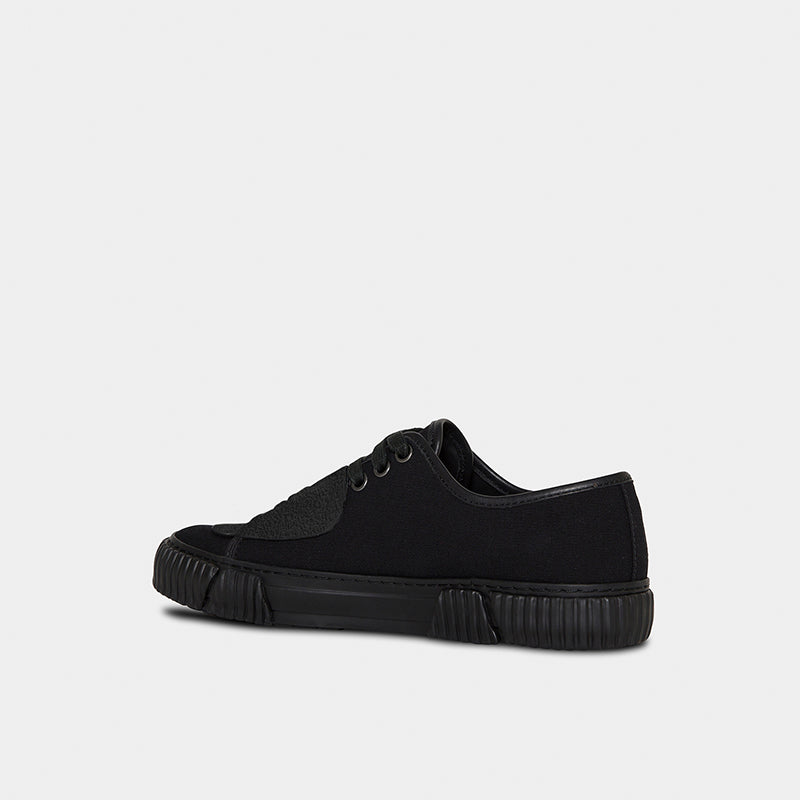 both - GUM PATCH LOW TOP-BLACK