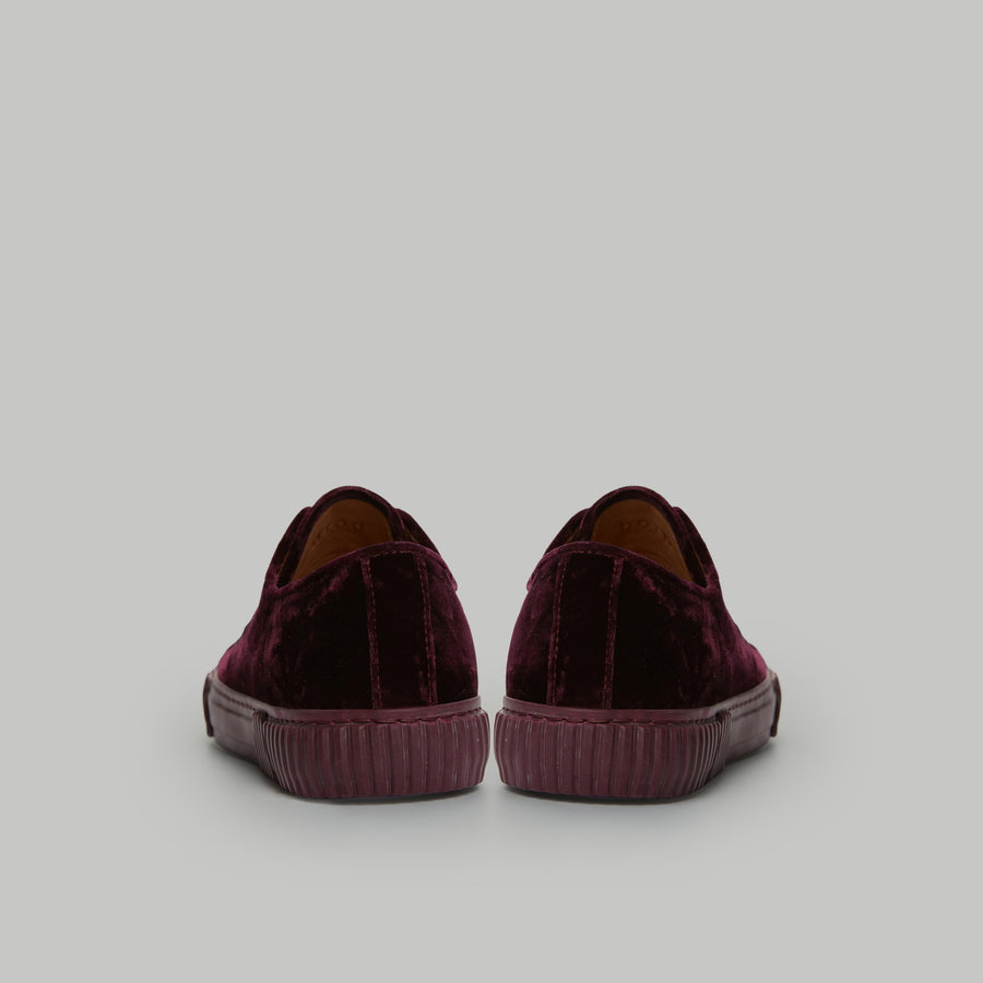 both - GUM PATCH LOW TOP-W-BORDEAUX