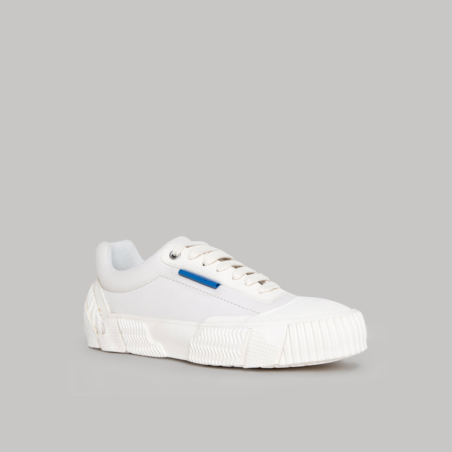 both - BROKEN-C LOW TOP-WHITE