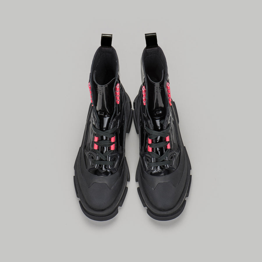 both - GAO RUNNER HIGH-BLACK / NEON PINK