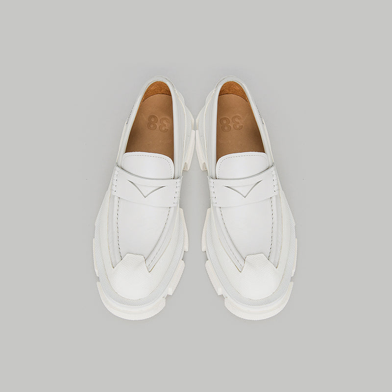 both - GAO LOAFER-WHITE