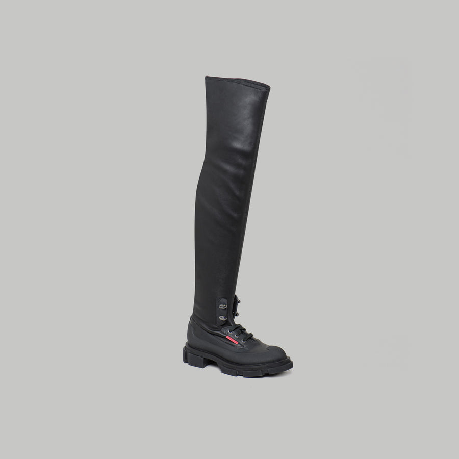 both -GAO STRETCH BOOT -BLACK