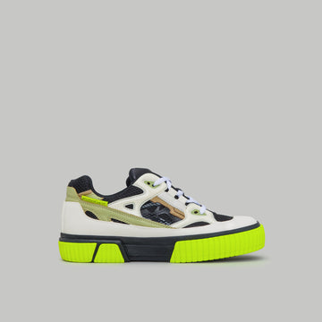 both - PRO-TEC RUNNER LOW-BLACK/WHITE/NEONYELLOW