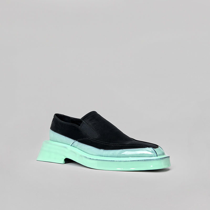 both - GANG LOAFER-BLACK/OXI