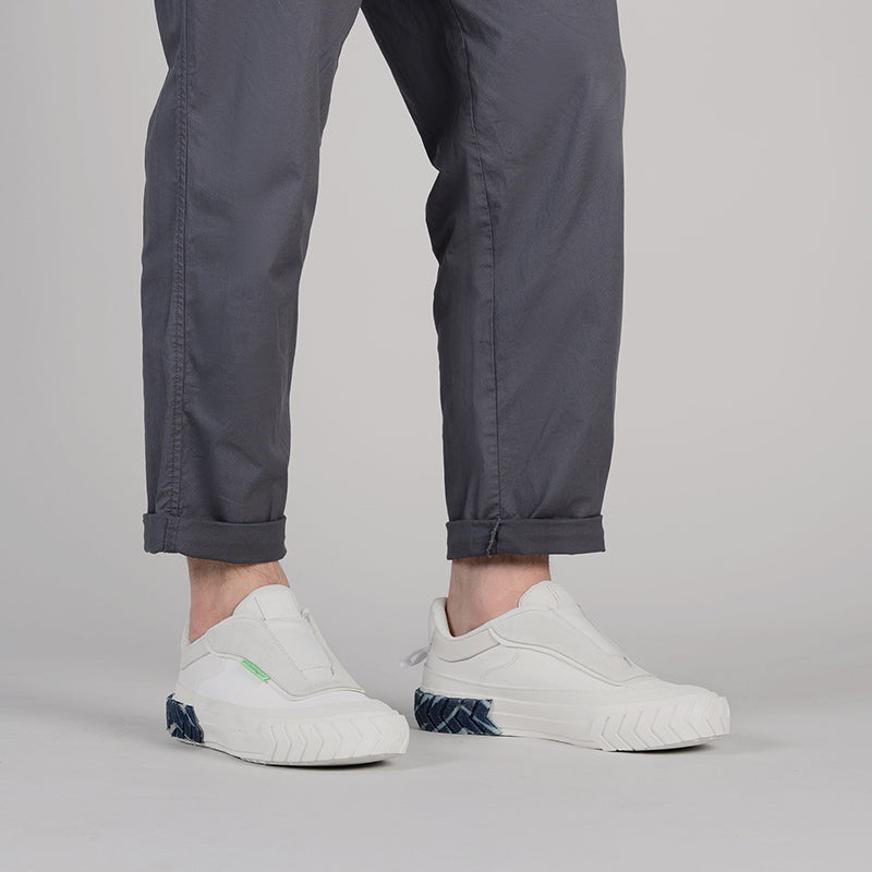 both - TYRES FORCE NO LACE-DENIM/WHITE