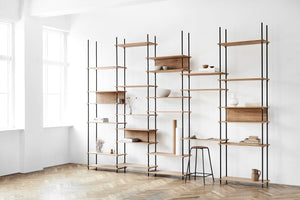 Shelving System - tall double bay