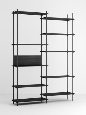 Shelving System - Extra tall double bay