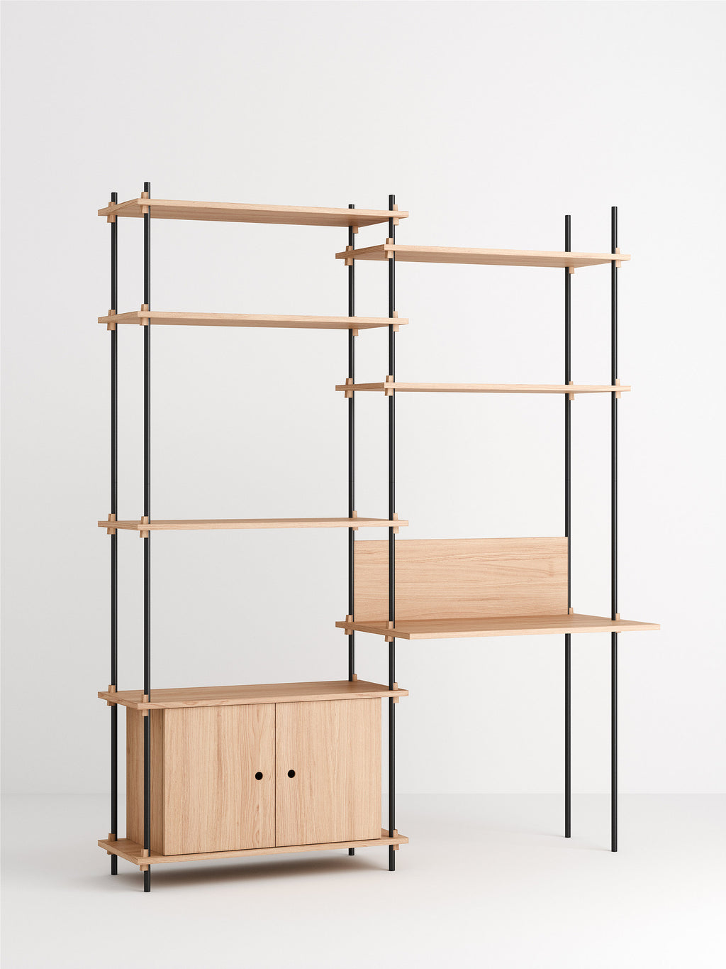 Shelving System - Tall workstation