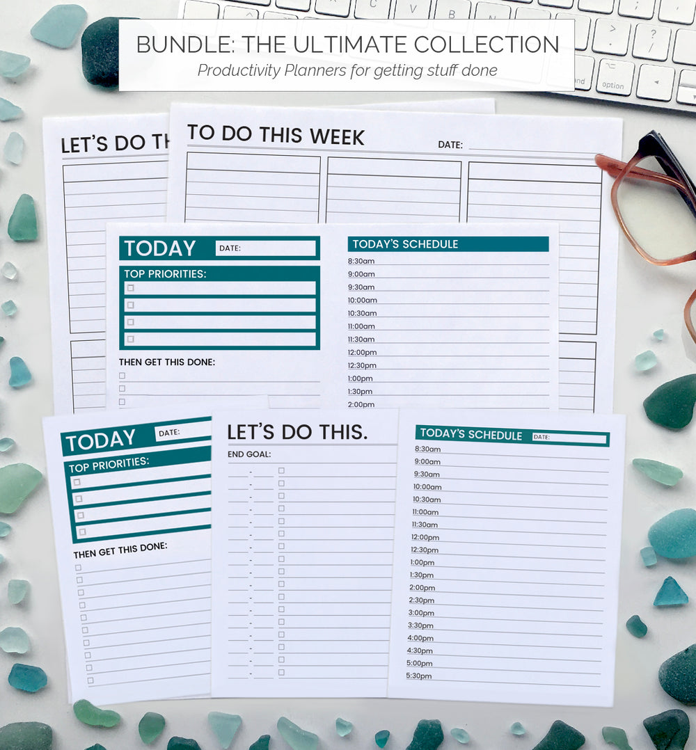 Productivity Planners - The Ultimate Bundle