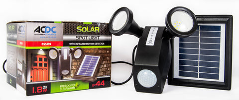 AC/DC Solar Spot Light