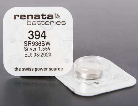 394 1.5V Renata Button Cell