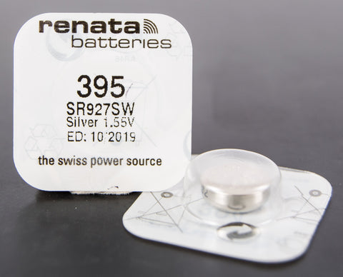 395 1.5V Renata Button Cell