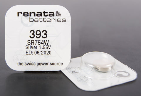 393 1.5V Renata Button Cell