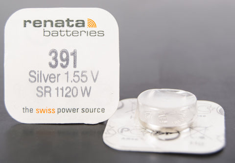 391 1.5V Renata Button Cell