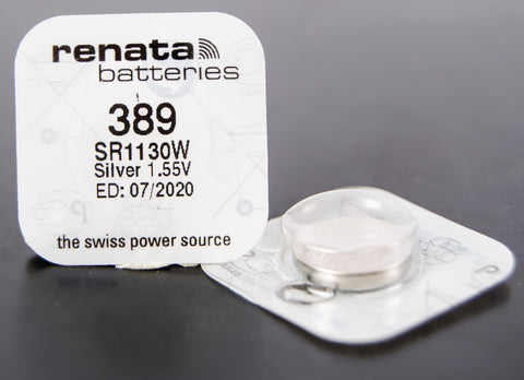 389 1.5V Renata Button Cell