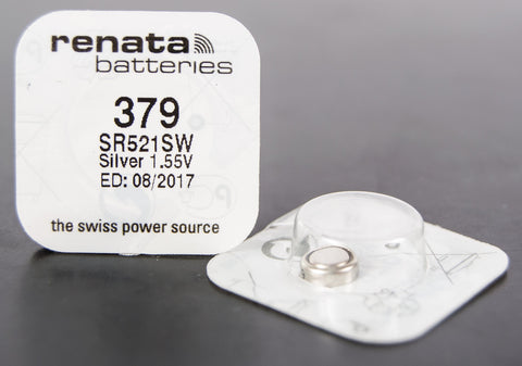 379 1.5V Renata Button Cell