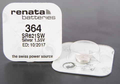 364 1.5V Renata Button Cell