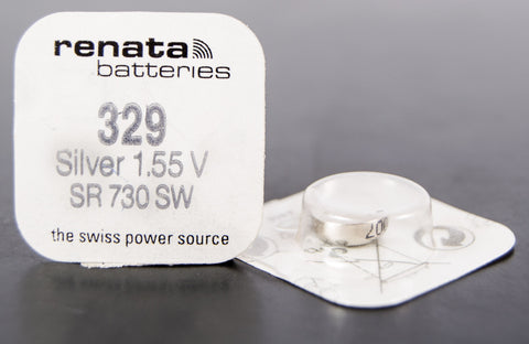 329 1.5V Renata Button Cell