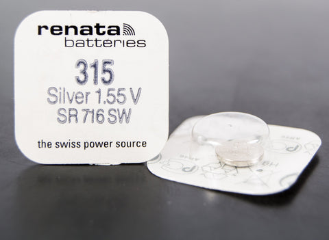 315 1.5V Renata Button Cell