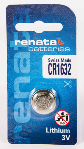 CR1632 Renata Lithium Coin Battery
