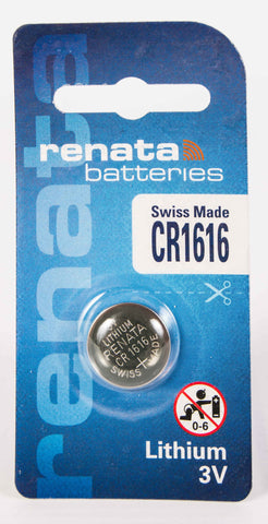 CR1616 Renata Lithium Coin Battery