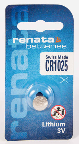 CR1025 Renata Lithium Coin Battery