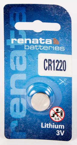 CR1220 Renata Lithium Coin Battery