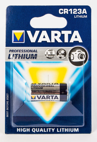 CR123A 3V Varta Lithium Battery