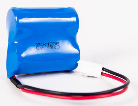 CR123 6V Lithium Battery Pack
