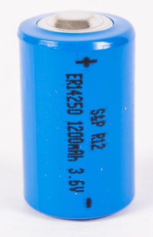 1/2 AA 3.6V Lithium Battery