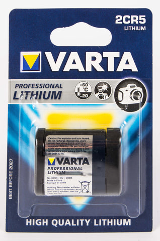 2CR5 Varta Lithium Battery